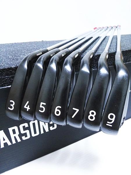 【PXG 0311T 美品】7本セット(3-9番) アイアン|フルセット販売も可|ブラック ダークネス|TrueTemper GS95|高性能 高機能|レア 希少_画像8