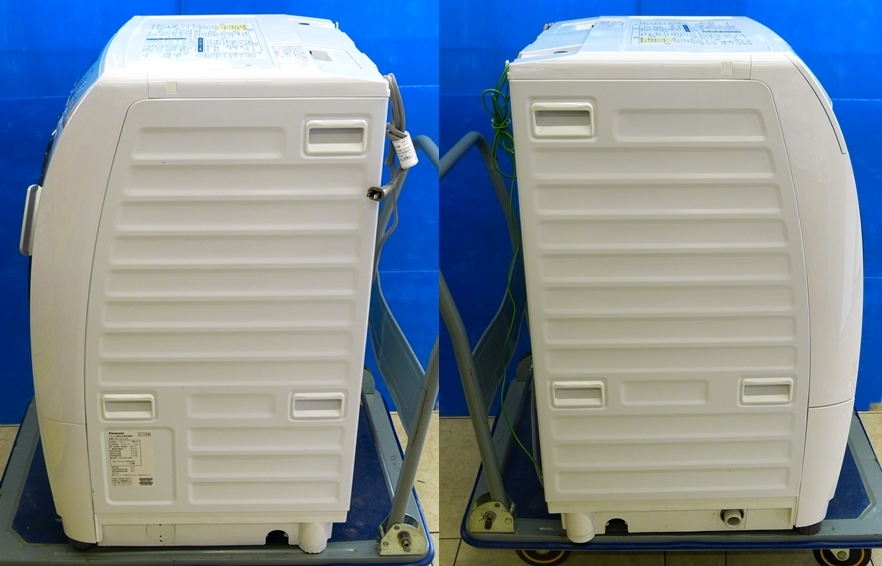 ● Panasonic パナソニック ドラム式洗濯乾燥機 ドラム洗濯機 洗濯機 NA-VD120L 6/3K 2013年製 プチドラム 家電 中古 動作品 ●_画像7