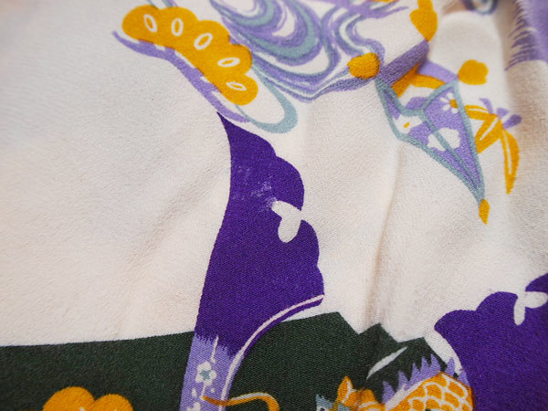 【PHERROWS】フェローズ アロハシャツ 兜 節句 着物 和柄 ◆Size:M_画像5