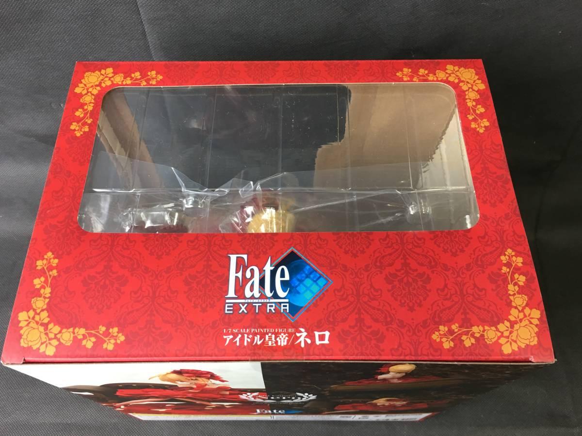 oW634 送料無料 未開封 Fate/EXTRA フェイト エクストラ アイドル皇帝 ネロ 1/7スケール アクアマリン_画像2