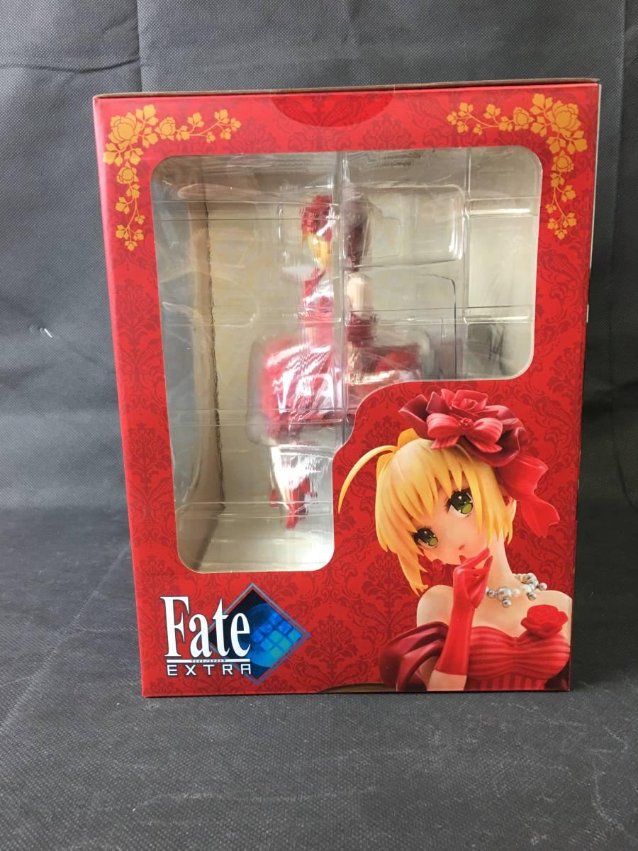 oW634 送料無料 未開封 Fate/EXTRA フェイト エクストラ アイドル皇帝 ネロ 1/7スケール アクアマリン_画像5