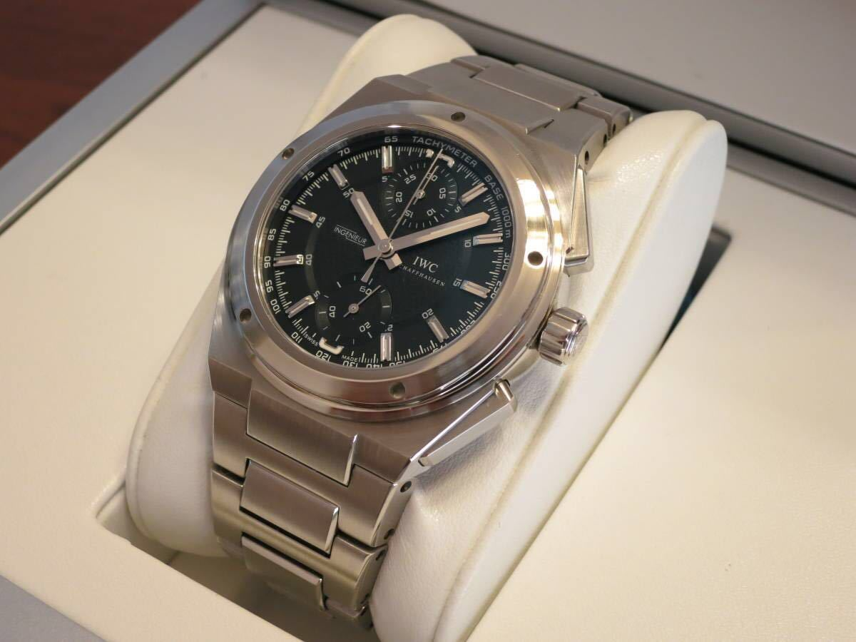 official photos 5d532 04e73 美品 IWC / インヂュニア / クロノグラフ / IW372501