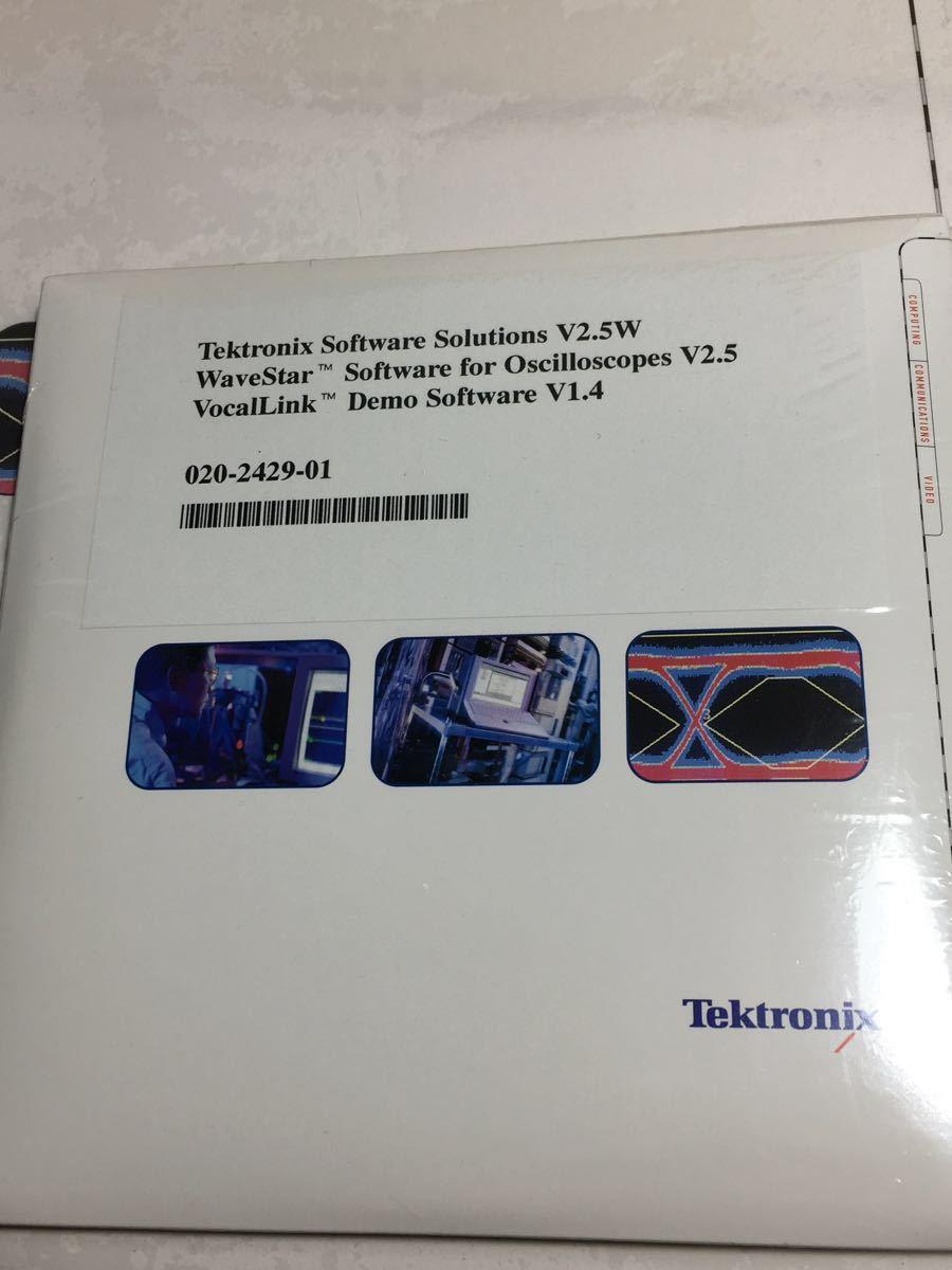 ☆未使用品☆Tektronix テクトロニクス ソフトウェア2枚+プログラマーマニュアル(TDS3000&TDS3000Bシリーズ)+α ②_画像5