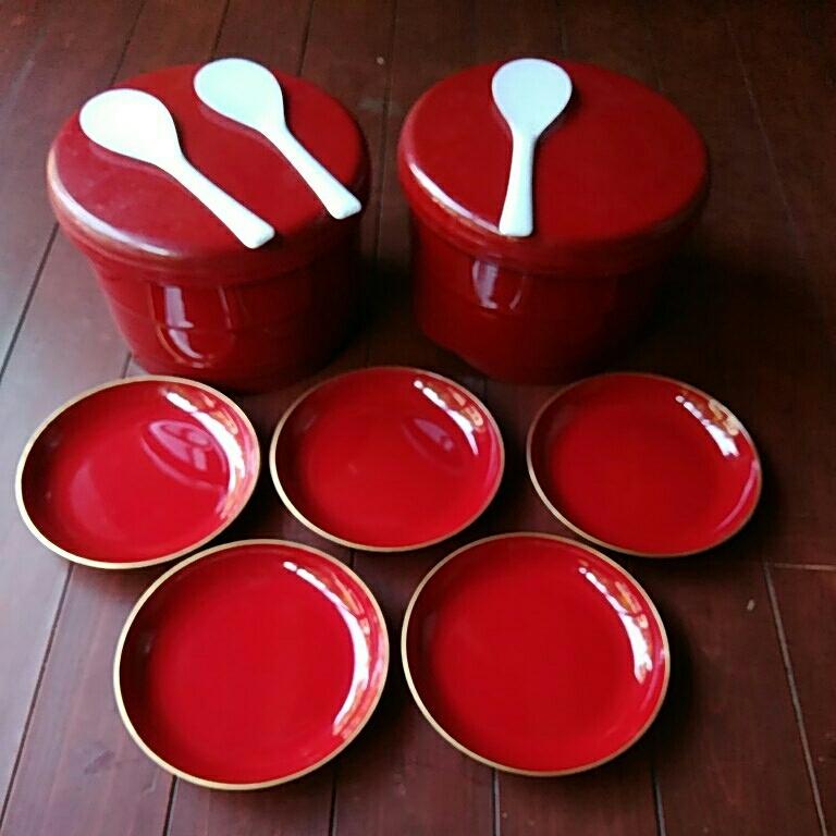 皿、30枚、漆塗り、飯ばち、2つ、漆塗り写真見てお願いいたします、よろしくお願いいたします。_画像2