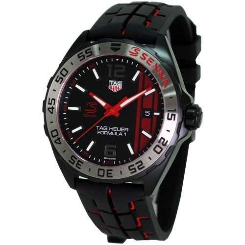 タグ・ホイヤー メンズ腕時計 フォーミュラー1アイルトン・セナエディション WAZ1014.FT8027 キタムラで購入2019年3月 新品未使用_画像1