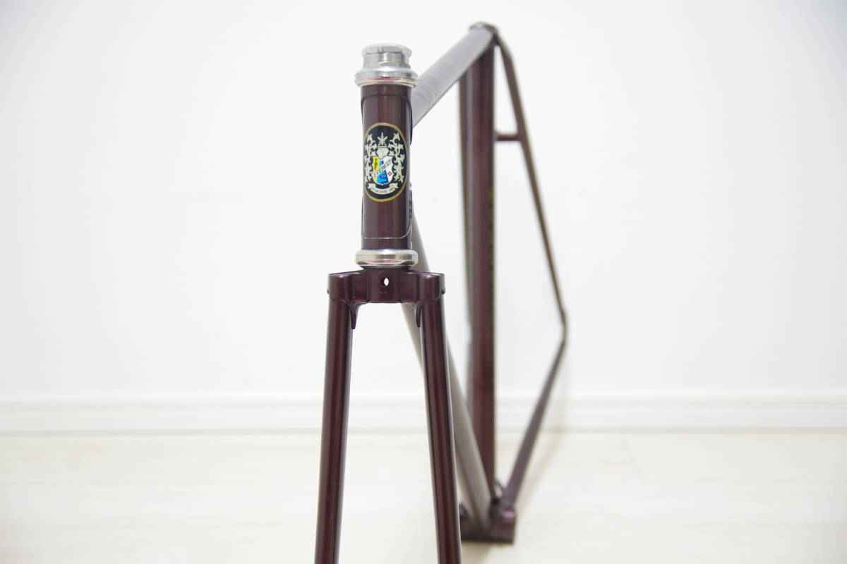 希少!「EVEREST」土屋製作所 Esprit 「CHAMPION」刻印 騎士ヘッドバッヂ 1970年代 ヴィンテージロードフレーム