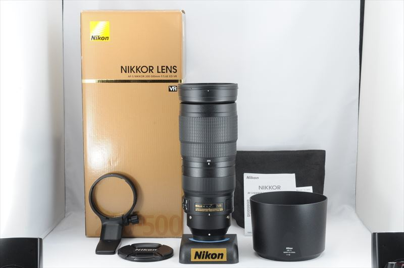 ★新品級★Nikon AF-S 200-500mm F5.6 E ED VR 付属品有 #4448MSB