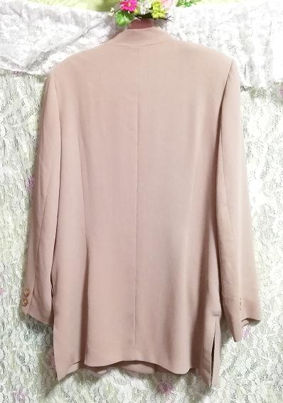 亜麻色綺麗ボタン/カーディガン/羽織 Flax color beautiful button cardigan_画像6