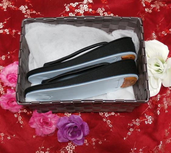 無地黒色/靴草履/和服 Black/shoes sandals/kimono 02_画像2