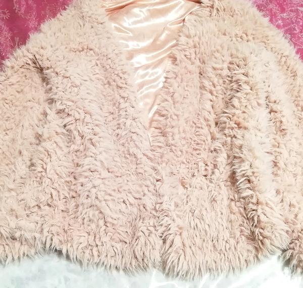 ピンクモコモコふわふわ/カーディガン/羽織 Pink mocomoco fluffy cardigan_画像5