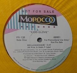 ☆KIDD GLOVE/HELLZAROCKIN' '1984USA MOROCCO COLOR PROMO12INCH_画像4