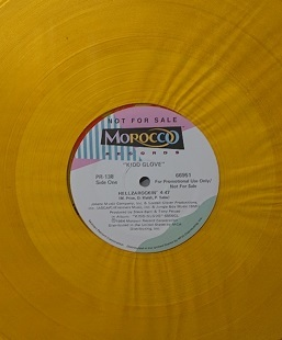 ☆KIDD GLOVE/HELLZAROCKIN' '1984USA MOROCCO COLOR PROMO12INCH_画像3