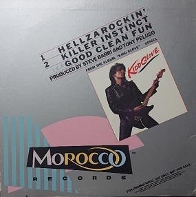 ☆KIDD GLOVE/HELLZAROCKIN' '1984USA MOROCCO COLOR PROMO12INCH_画像2