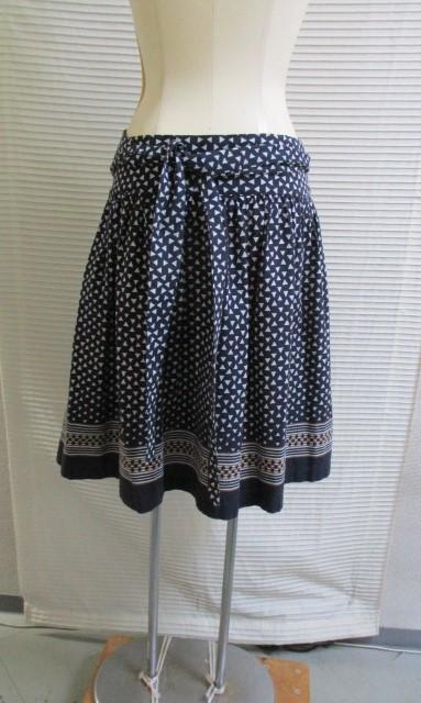 2)9号M* イタリア製 マーブルシュッド SUD スカート_画像9