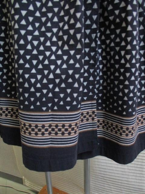 2)9号M* イタリア製 マーブルシュッド SUD スカート_画像7