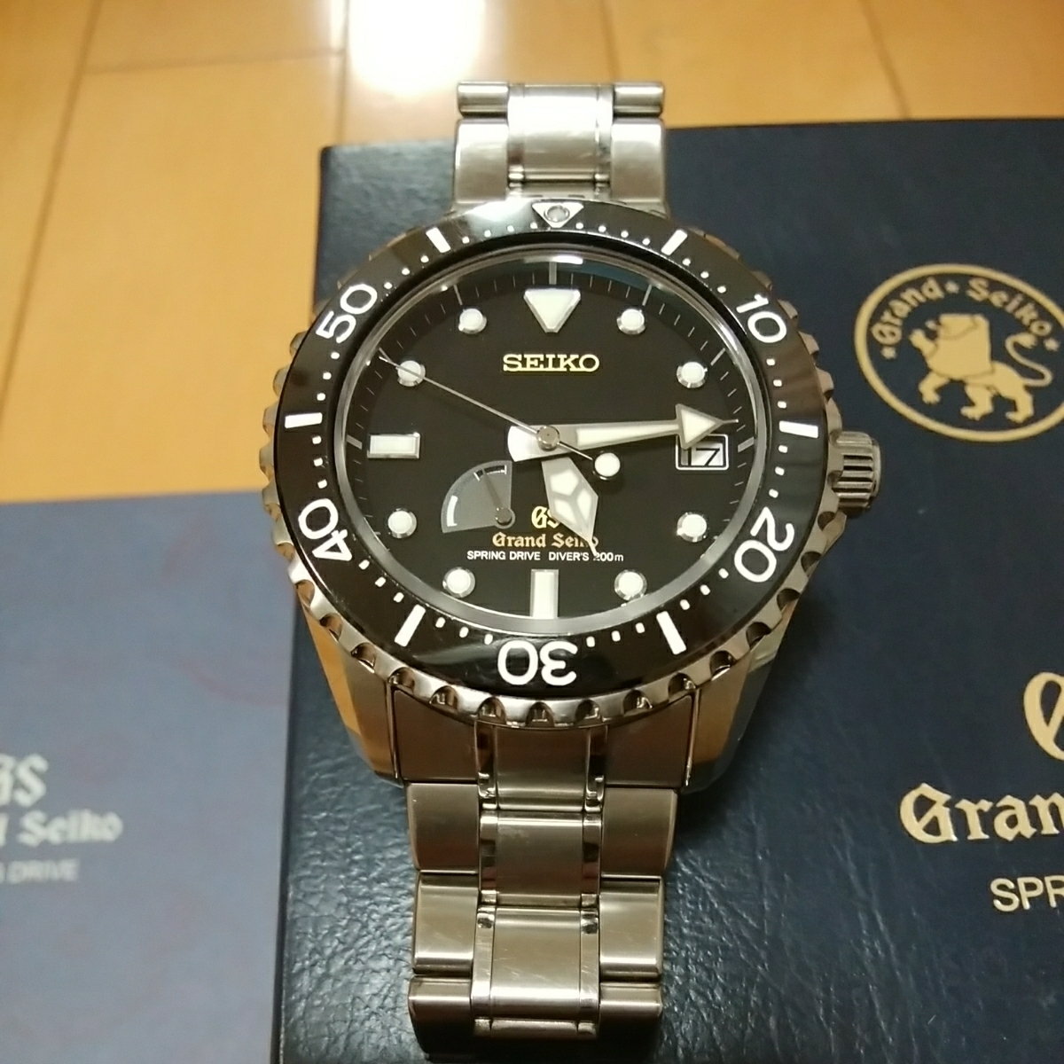 new product 08a80 66d7c 代購代標第一品牌- 樂淘letao - グランドセイコーSBGA031 ...