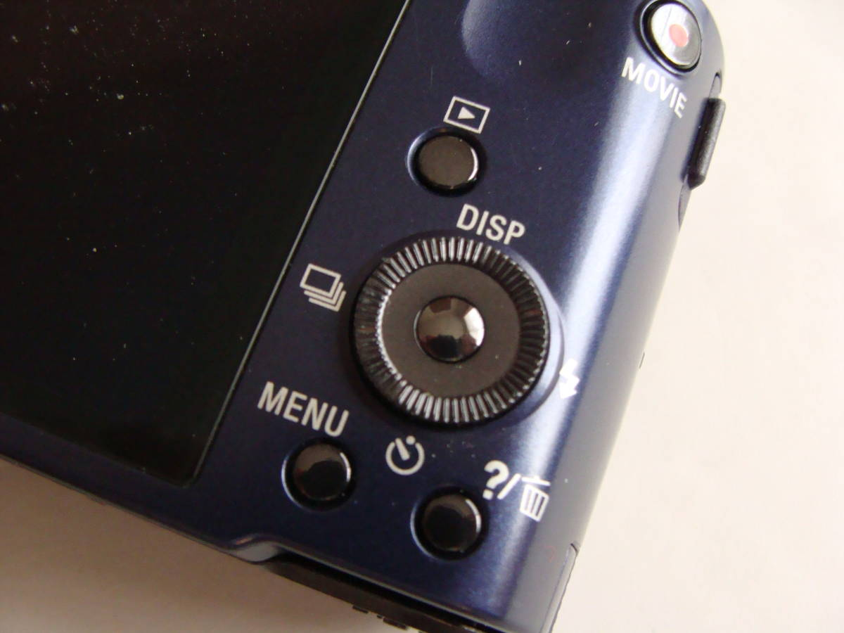【静止画・動画作動確認済み 程度良し】ソニー DSC-HX7V(ダークブルー)_画像5