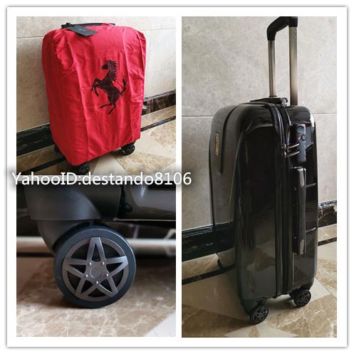 最高峰※貴重品・定価32万※Ferrari/フェラーリ※公式・スーツケース/キャリーケース・フェラーリF1チーム用装備・Lサイズ/70L_画像9
