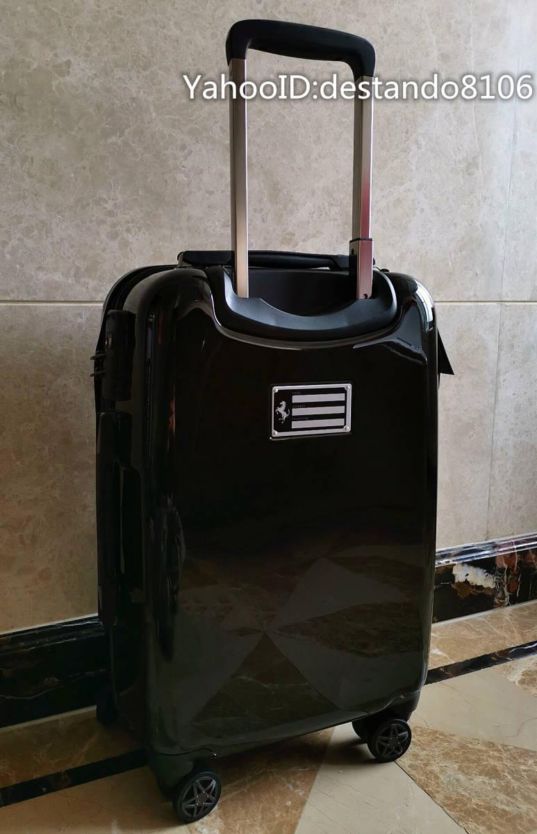 最高峰※貴重品・定価32万※Ferrari/フェラーリ※公式・スーツケース/キャリーケース・フェラーリF1チーム用装備・Lサイズ/70L_画像4