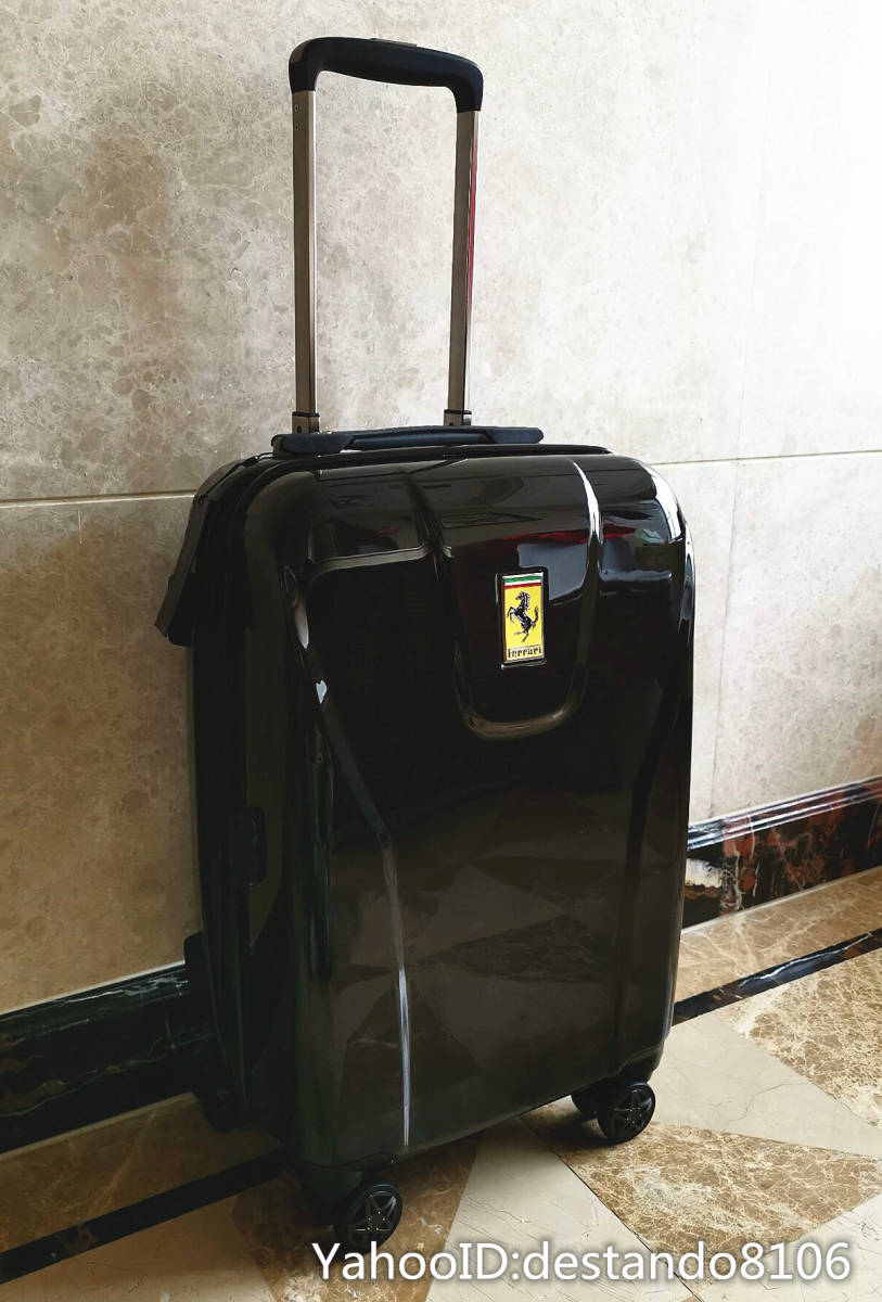 最高峰※貴重品・定価32万※Ferrari/フェラーリ※公式・スーツケース/キャリーケース・フェラーリF1チーム用装備・Lサイズ/70L_画像3