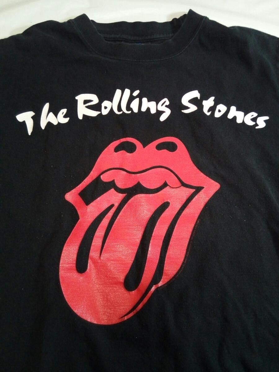 即決☆送料無料☆ローリング・ストーンズ☆The Rolling Stones☆転石☆Tシャツ☆ツアーTシャツ☆A Bigger Bang 2006☆ブラック☆