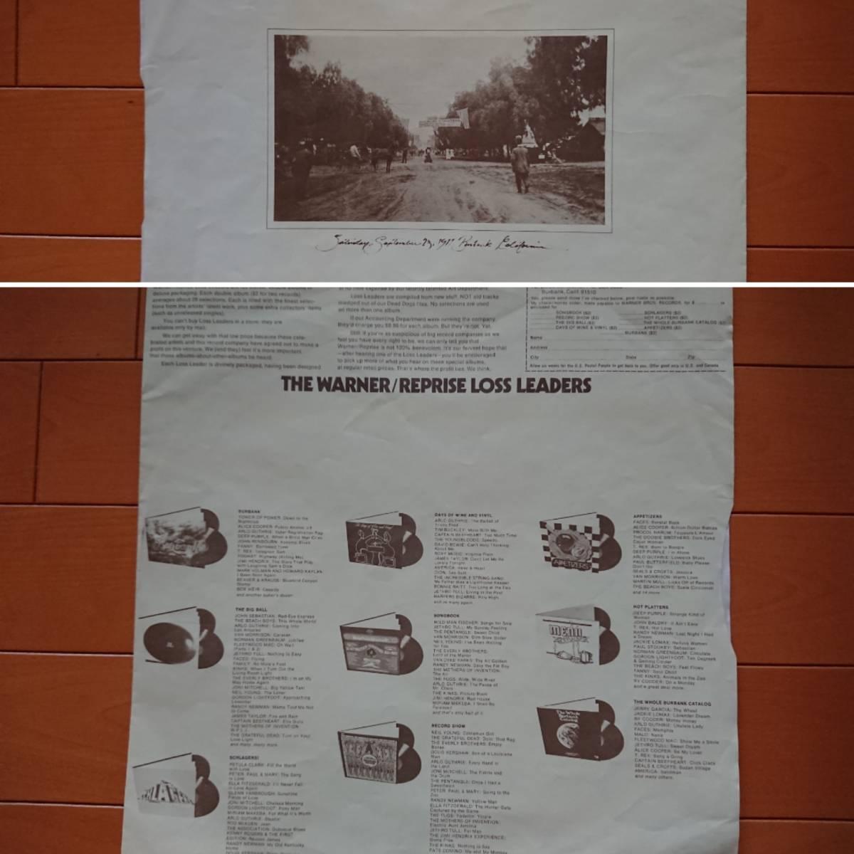 US白プロモLP 1974年 ドゥービーブラザーズ The Doobie Brothers「What Were Once Vices Are Now Habits」(Warner)PROMO,ドゥービー天国_インナースリーブ