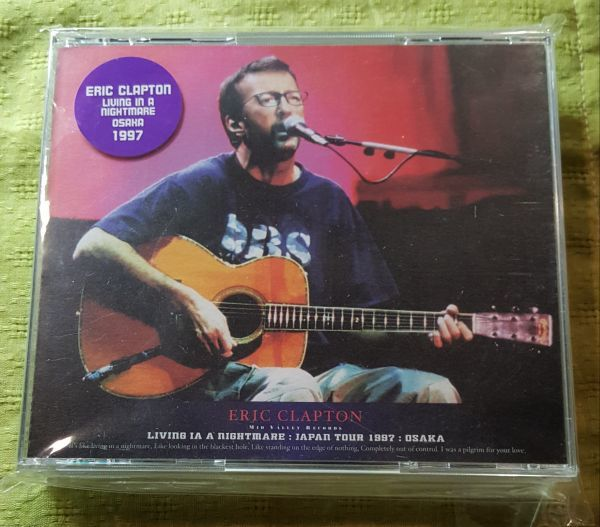 ERIC CLAPTON / LIVING IN A NIGHTMARE OSAKA 1997 (4CD) MID VALLEY