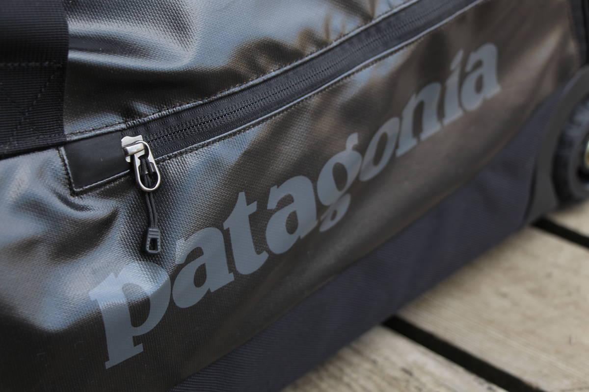 美品 PATAGONIA パタゴニア キャリー バッグ トローリー 旅行用 ブラックホール ウィールド ダッフル 45 アウトドア キャンプ スノーボード_画像5