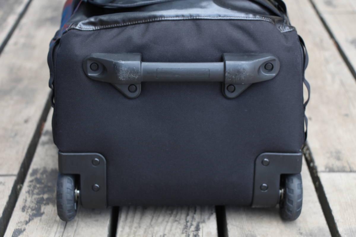 美品 PATAGONIA パタゴニア キャリー バッグ トローリー 旅行用 ブラックホール ウィールド ダッフル 45 アウトドア キャンプ スノーボード_画像4
