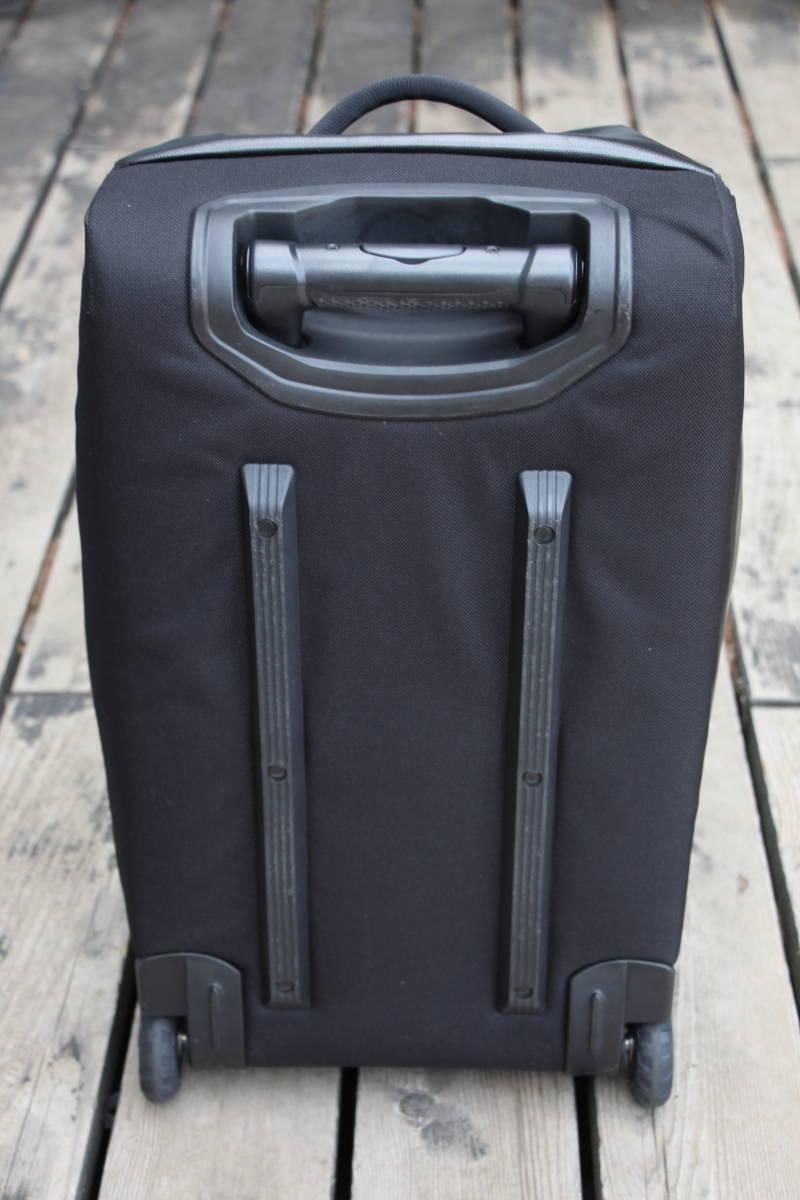 美品 PATAGONIA パタゴニア キャリー バッグ トローリー 旅行用 ブラックホール ウィールド ダッフル 45 アウトドア キャンプ スノーボード_画像7