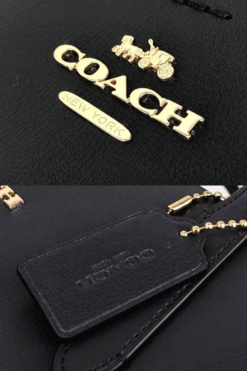 2019年春夏最新モデル☆COACH コーチ レザー アベニュー トート バック ◆新品◆_画像7