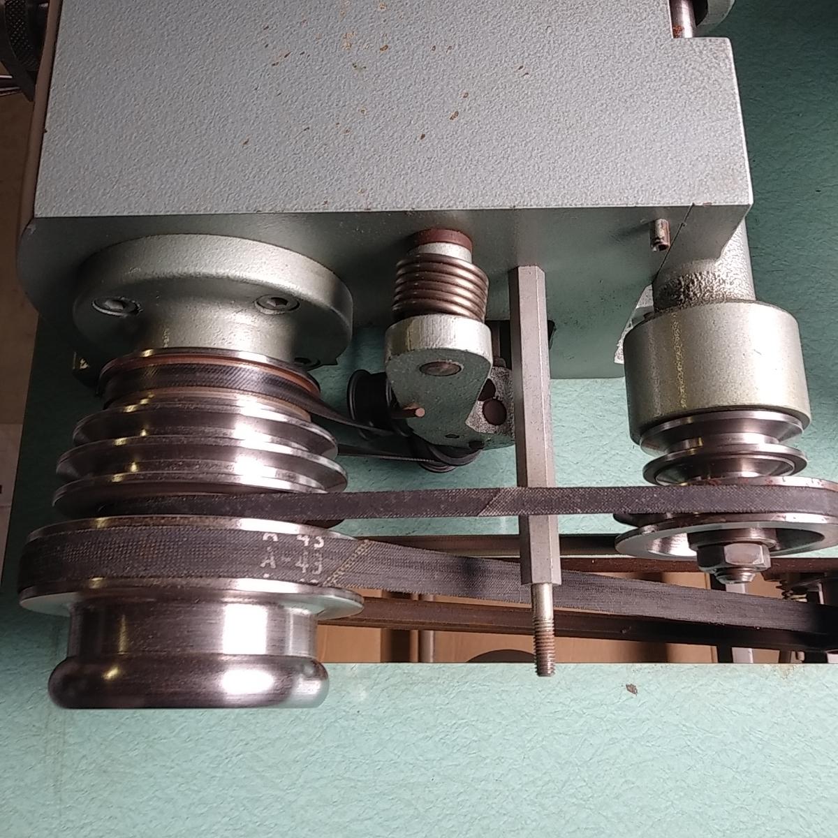 程度良しNIPPI NP2 革漉き機 実働品 整備済 保証有り_画像8