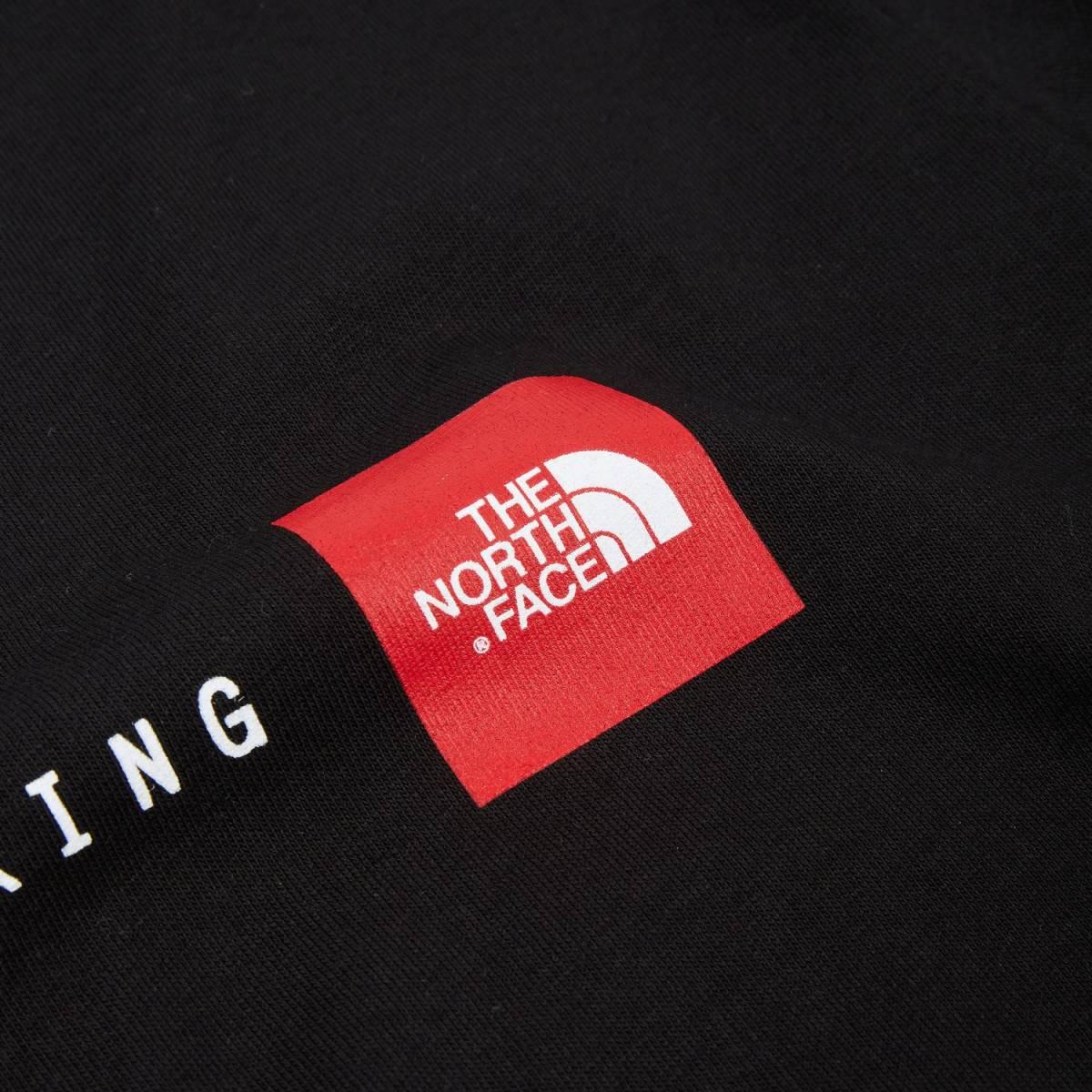1円~新品正規品☆The North Face T-shirt☆ノースフェイスTシャツ☆THE NORTH FACE NSE TEE☆TNFブラック☆Sサイズ_画像3
