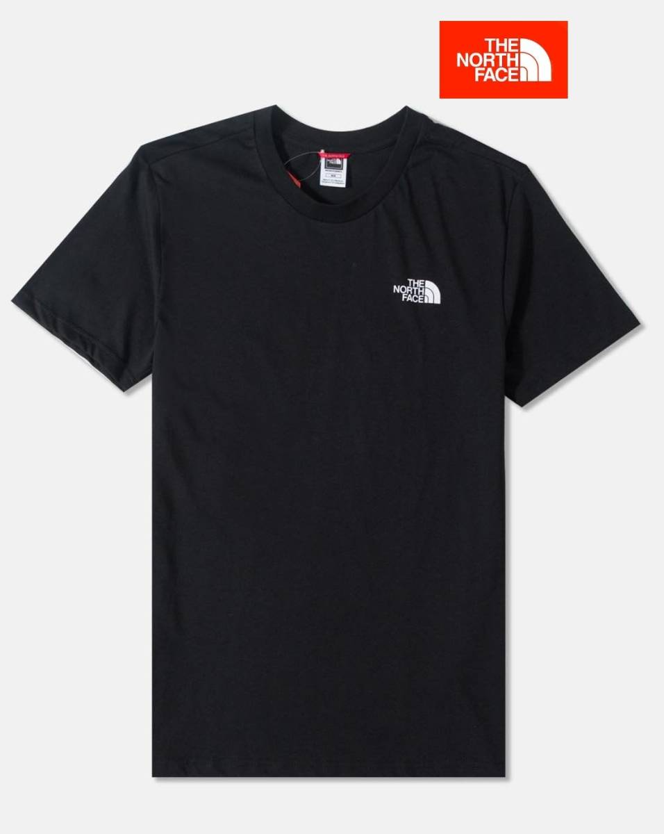 1円~即決あり☆新品正規品☆The North Face T-shirt☆ノースフェイスTシャツ☆The North Face S/S Simple Dome☆TNFブラック☆Lサイズ