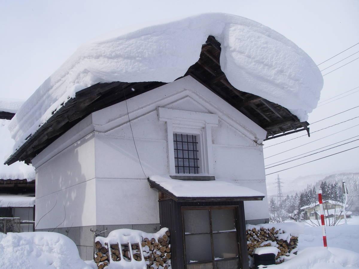 雪のお米倉庫(土蔵)