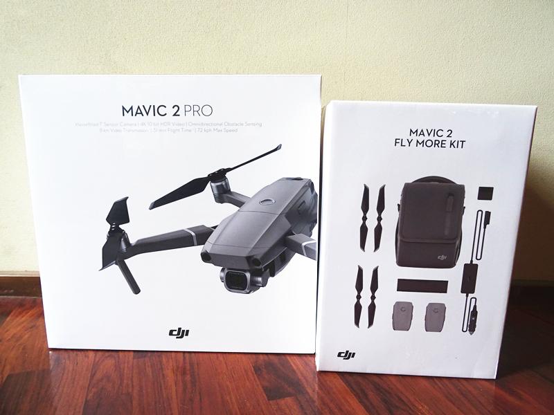 国内正規品◆DJI MAVIC 2 PRO+FLY MORE キット 超高画質 映像撮影 保険付◆新品未開封
