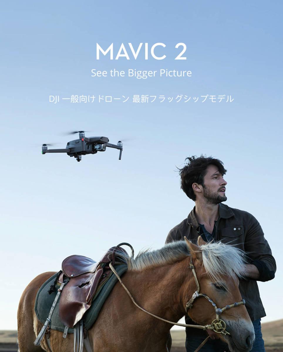 国内正規品◆DJI MAVIC 2 PRO+FLY MORE キット 超高画質 映像撮影 保険付◆新品未開封_画像8