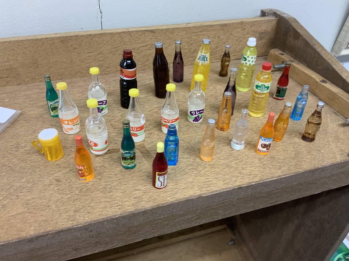◎ ミニチュアセット 大量 154個 コーヒーカップ、瓶、カップ、フルーツ、ハンバーグ 他_画像3