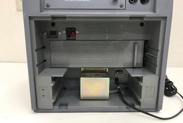 Panasonic パナソニック 800MHz帯 ポータブルワイヤレスアンプ【WX-282C】カセットデッキ _画像8