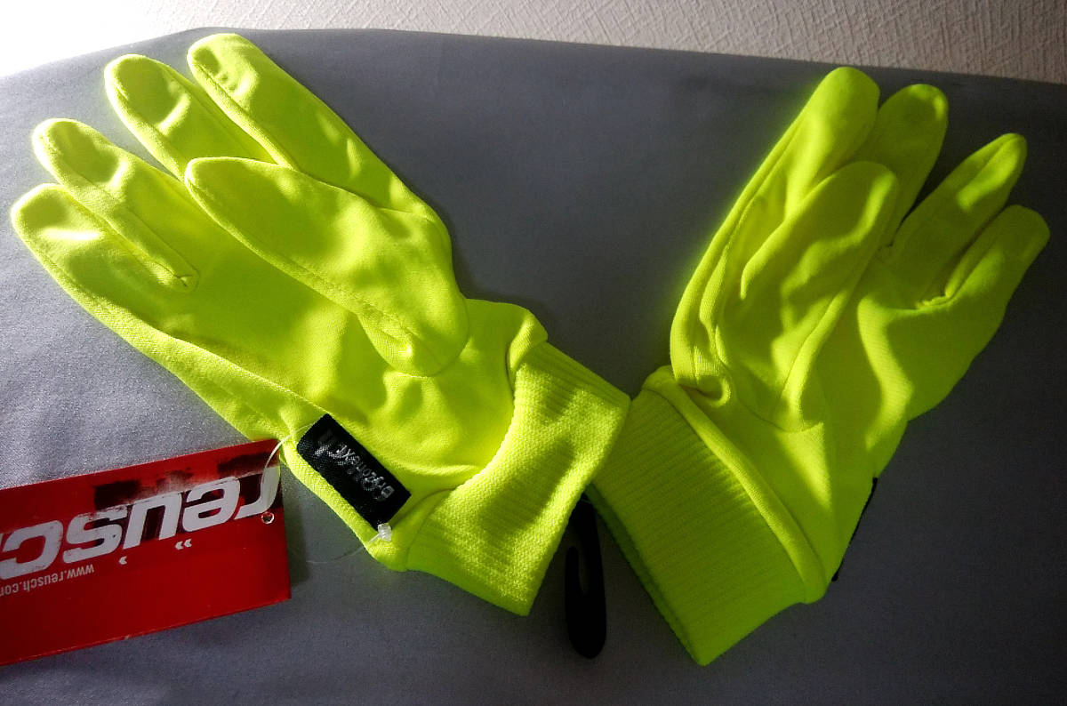 ◆REUSCH ロイシュ◆インナー手袋◆男性M・L/8.5サイズ◆DRYZONE◆暖かい◆スマホも◆スキーレーシング◆即決・送料無料あり★新品・格安!_画像2