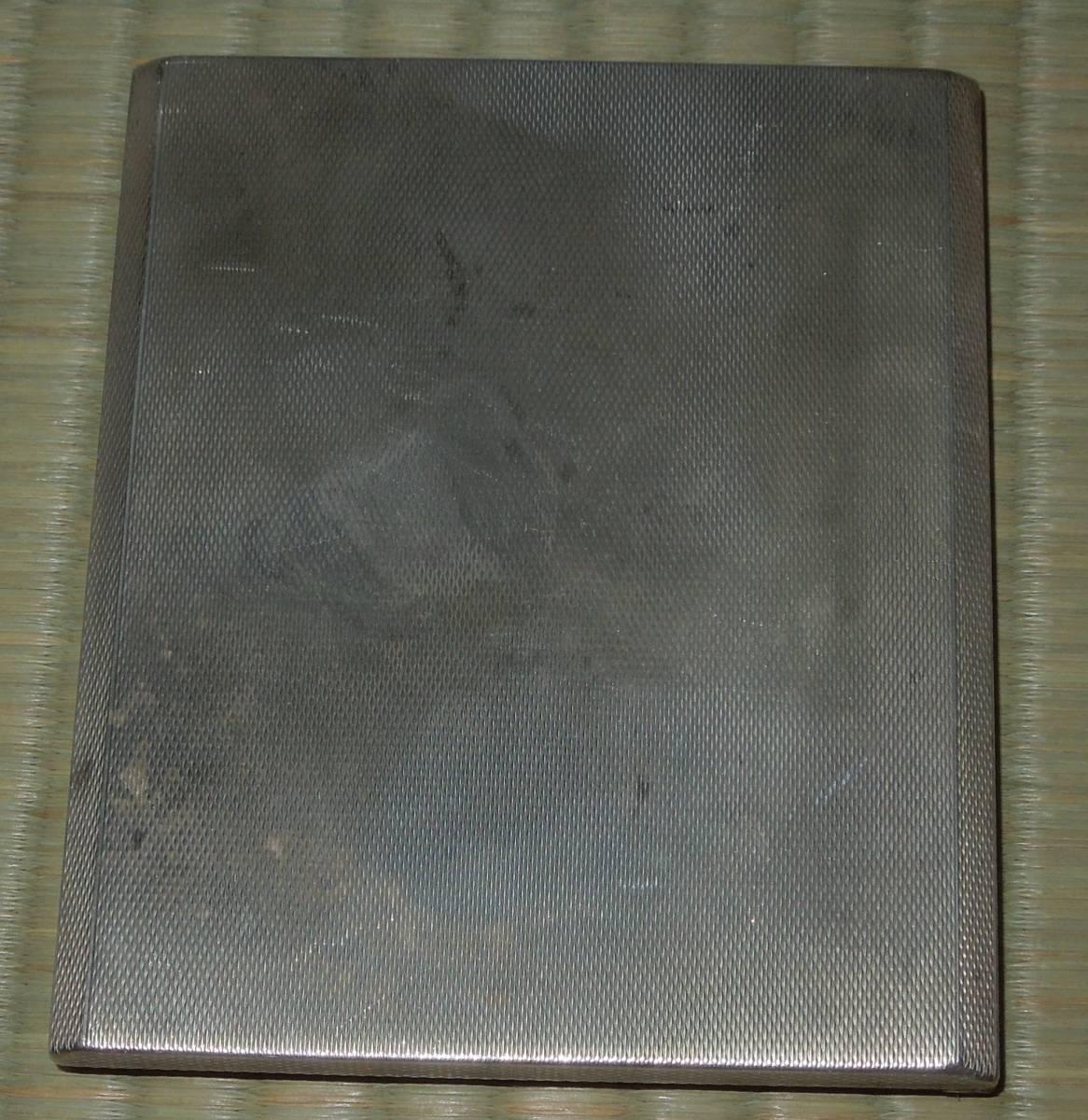 純銀・銀製 MAPPIN&WEBB マッピン&ウェブ 刻印あり  シガレットケース タバコケース 煙草入れ 約179g