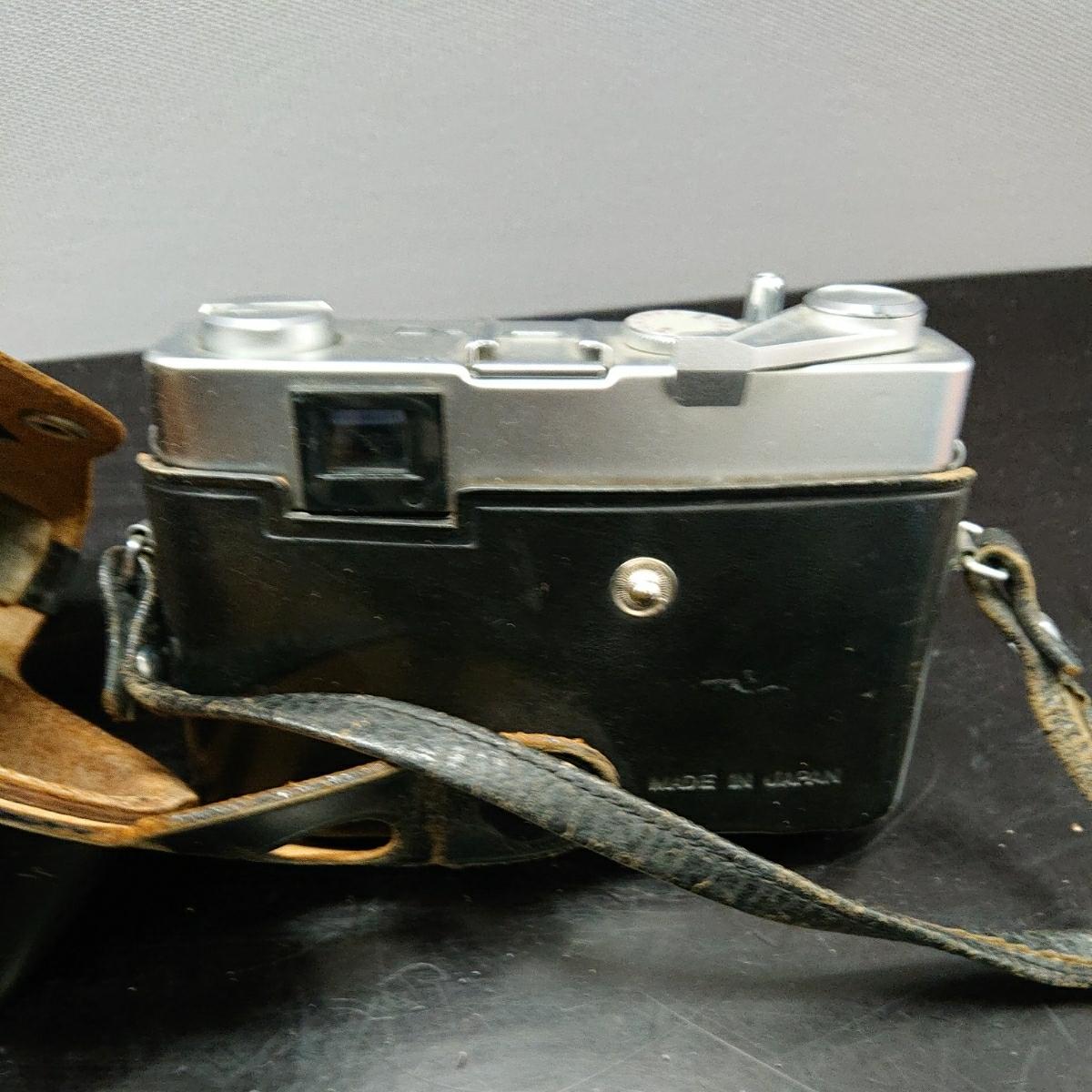 コニカ Konica EE-MATIC Deluxe KONICA HEXANON 1:2.8 f=40mm 専用ケース付き み_画像6