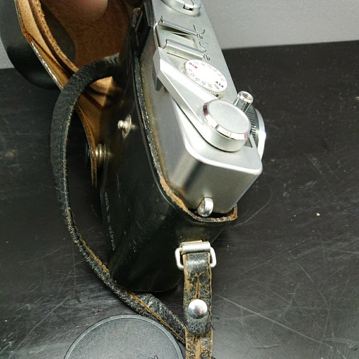 コニカ Konica EE-MATIC Deluxe KONICA HEXANON 1:2.8 f=40mm 専用ケース付き み_画像5