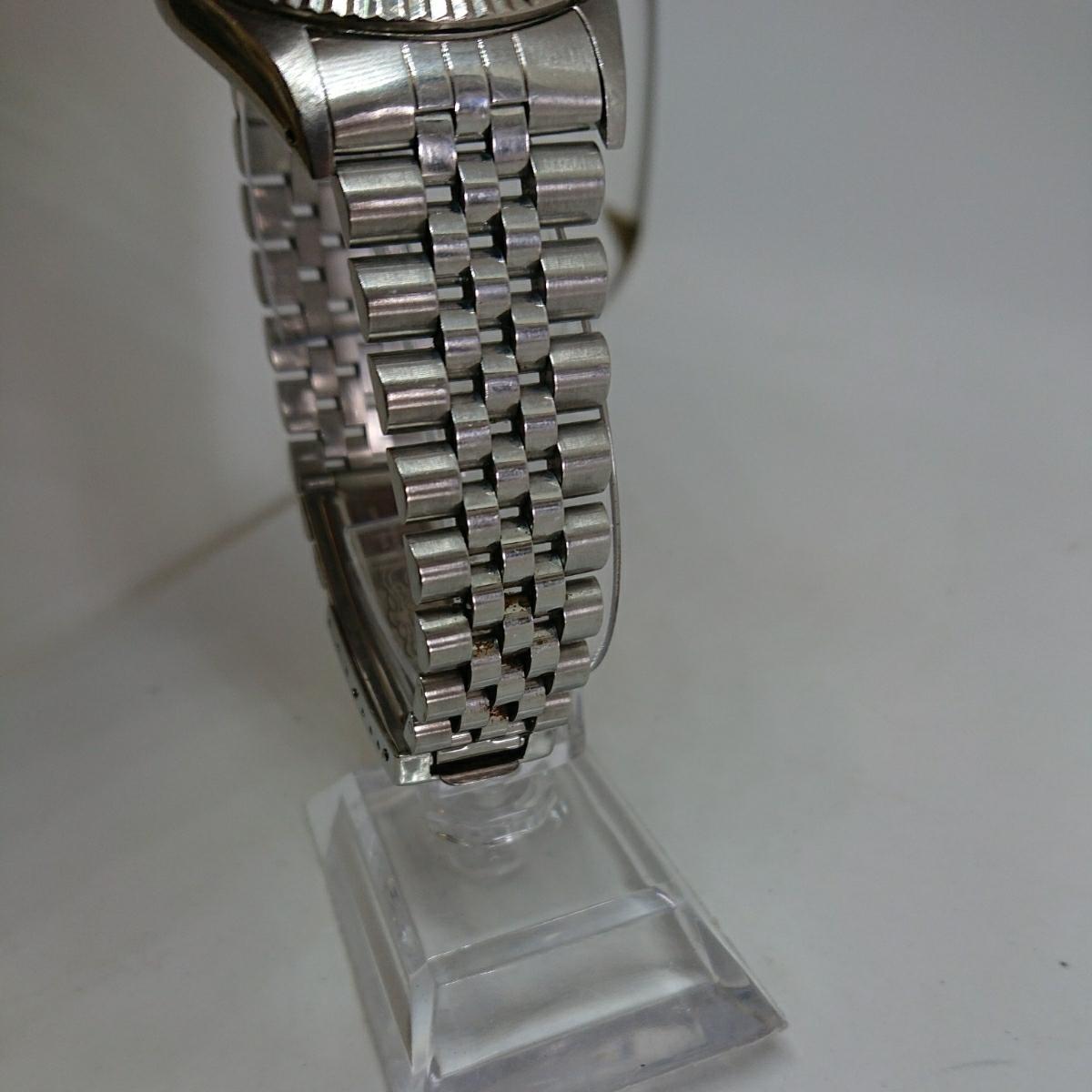 1円スタート ロレックス オイスターパーペチュアル デイトジャスト Ref.16234 X番140*** 自動巻 オートマメンズ 腕時計 尾_画像4