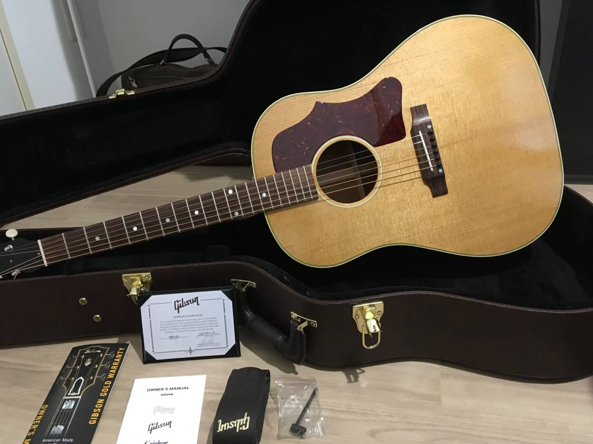 Gibson ギブソン 1959 J-50 Thermally Aged_Antique Natural ★2018年製 ほぼ新品!!