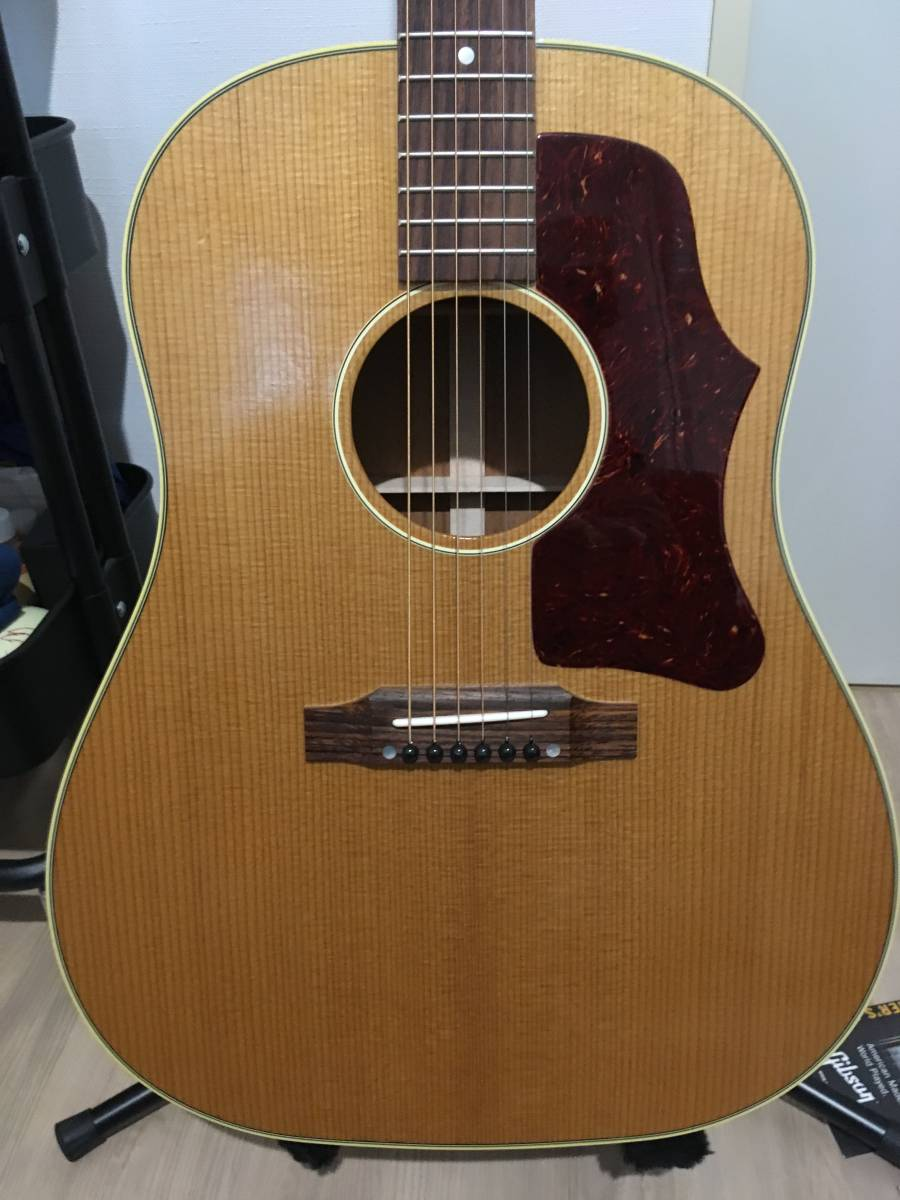 Gibson ギブソン 1959 J-50 Thermally Aged_Antique Natural ★2018年製 ほぼ新品!!_画像2