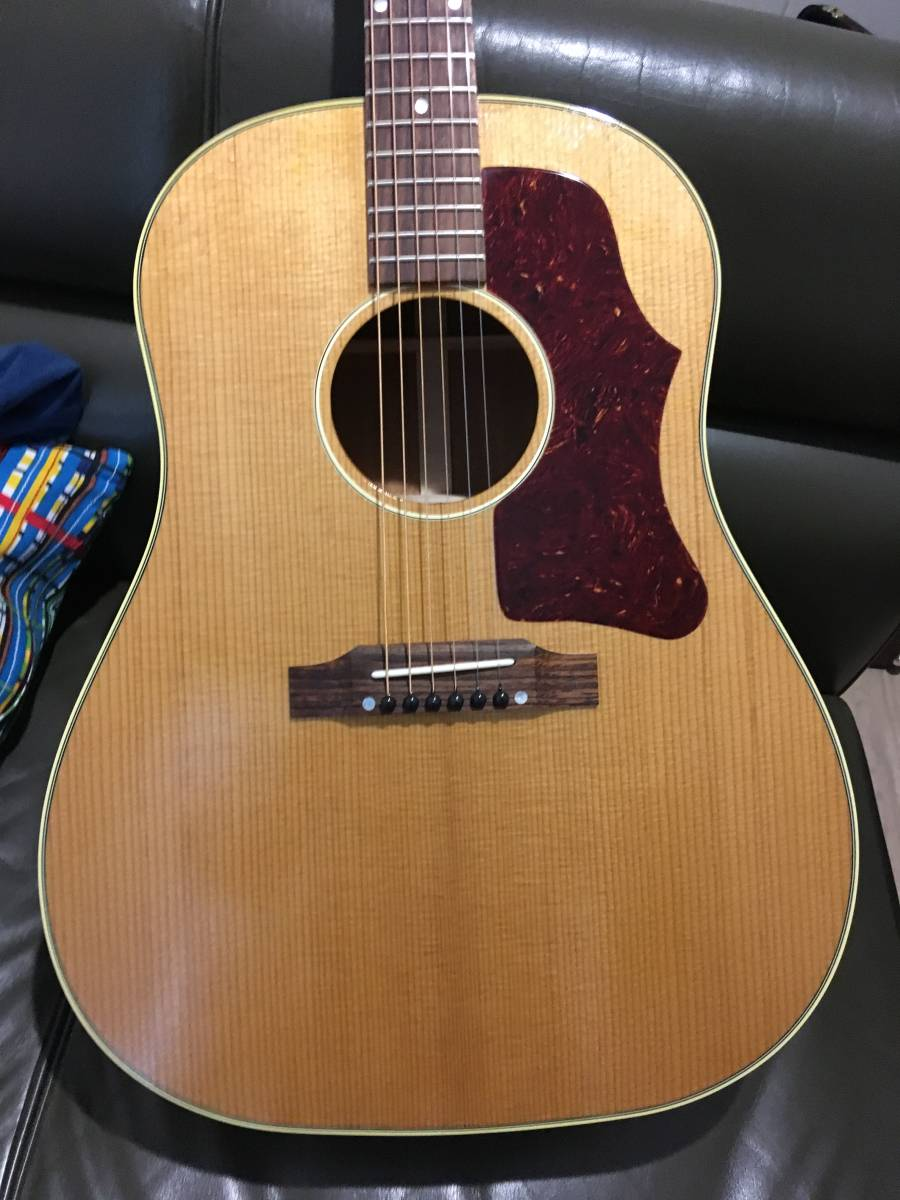 Gibson ギブソン 1959 J-50 Thermally Aged_Antique Natural ★2018年製 ほぼ新品!!_画像7