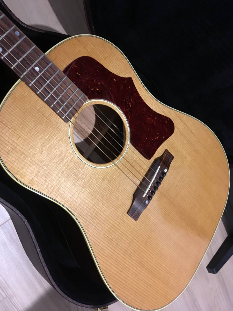Gibson ギブソン 1959 J-50 Thermally Aged_Antique Natural ★2018年製 ほぼ新品!!_画像3