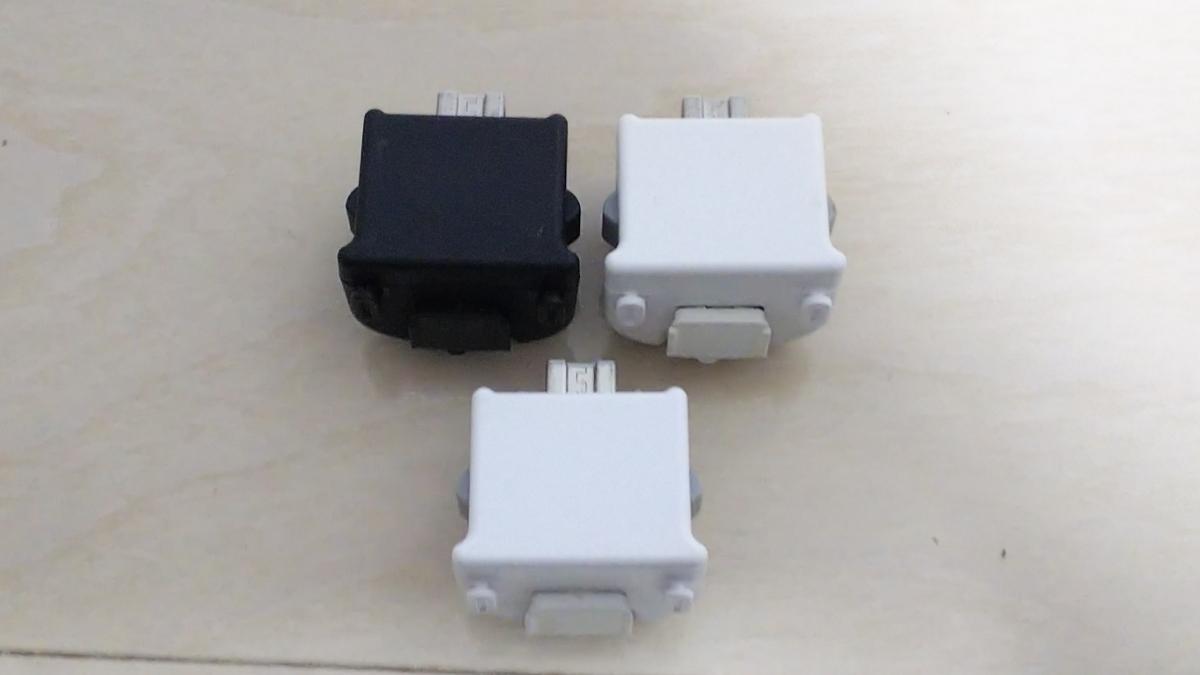 任天堂 Wiiモーションプラス 3個セット 白 黒 動作確認済み 送料290円より