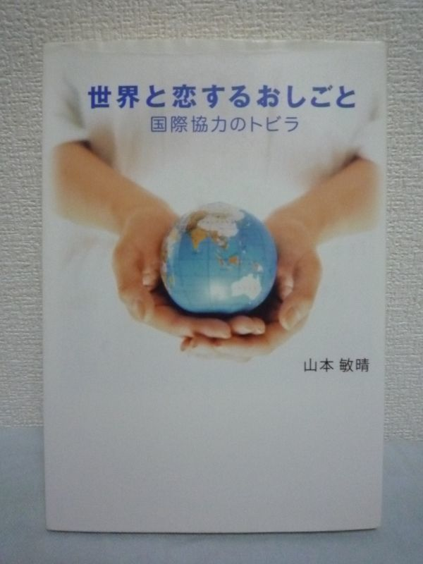 【世界と恋するおしごと 国際協力のトビラ|山本 敏晴著】小学館_画像1